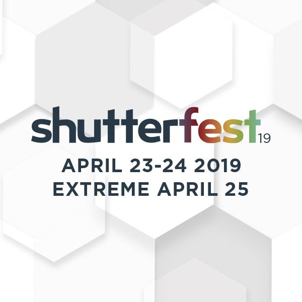 ShutterFest 2019 General Registration + Extreme