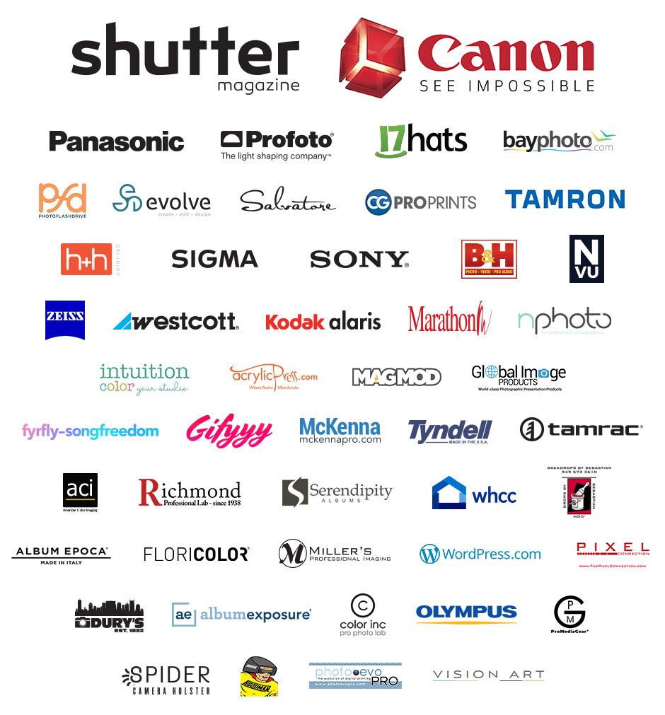 ShutterFest 2019 Vendors
